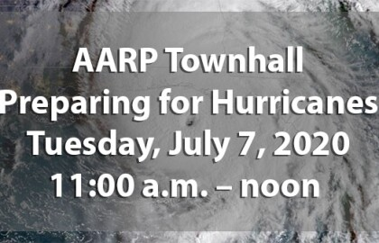 Be heard during the Hurricane Prep Tele Townhall