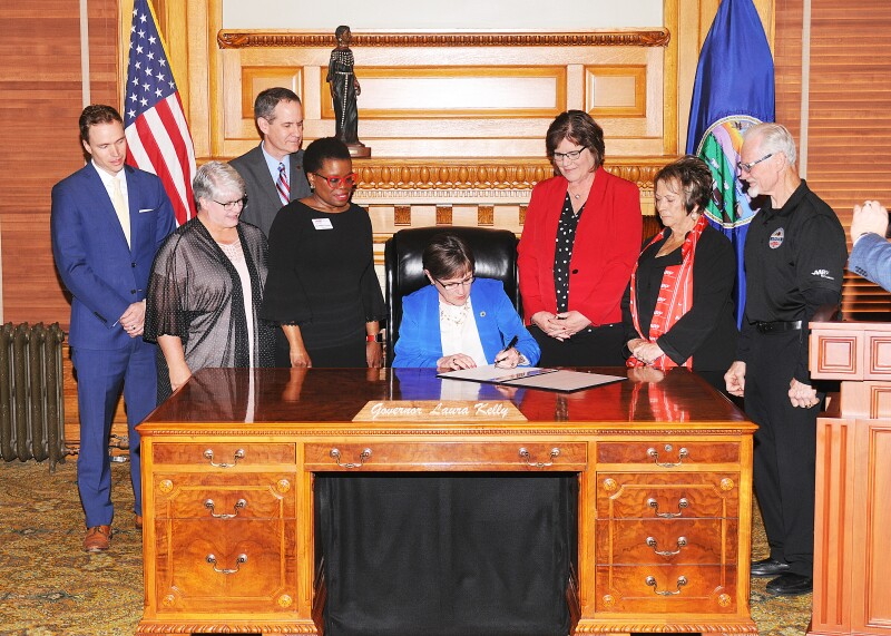 Governor Kelly signs SB 94