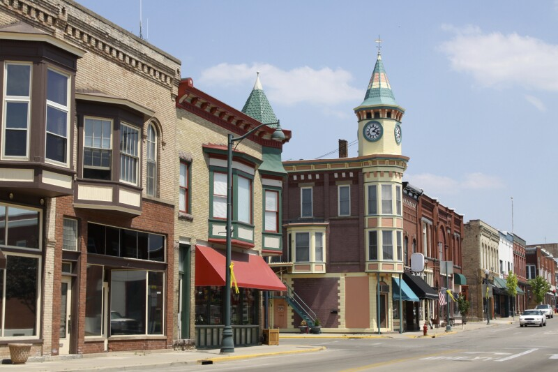 Small Town American Pic