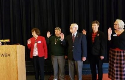 BLACKSBURG AARP CHAPTER:   A BRIEF LOOK AT YESTERDAY AND TODAY