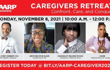 AARP Louisiana Hosts Annual Caregivers Retreat