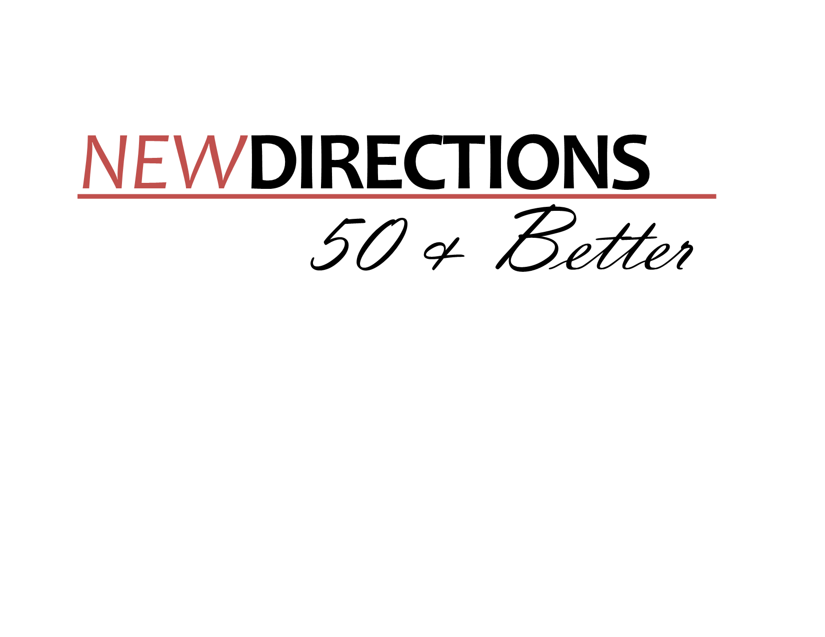 Join Us For New Fall Session of New Directions - 50 & Better