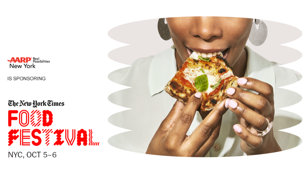 Experience Food and Fun with AARP NY at The New York Times Food Festival!