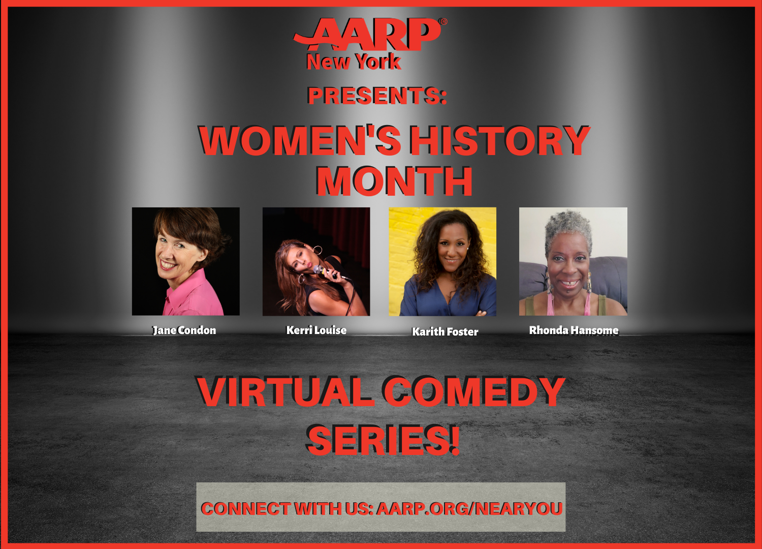 Virtual Comedy Series: Women's History Month