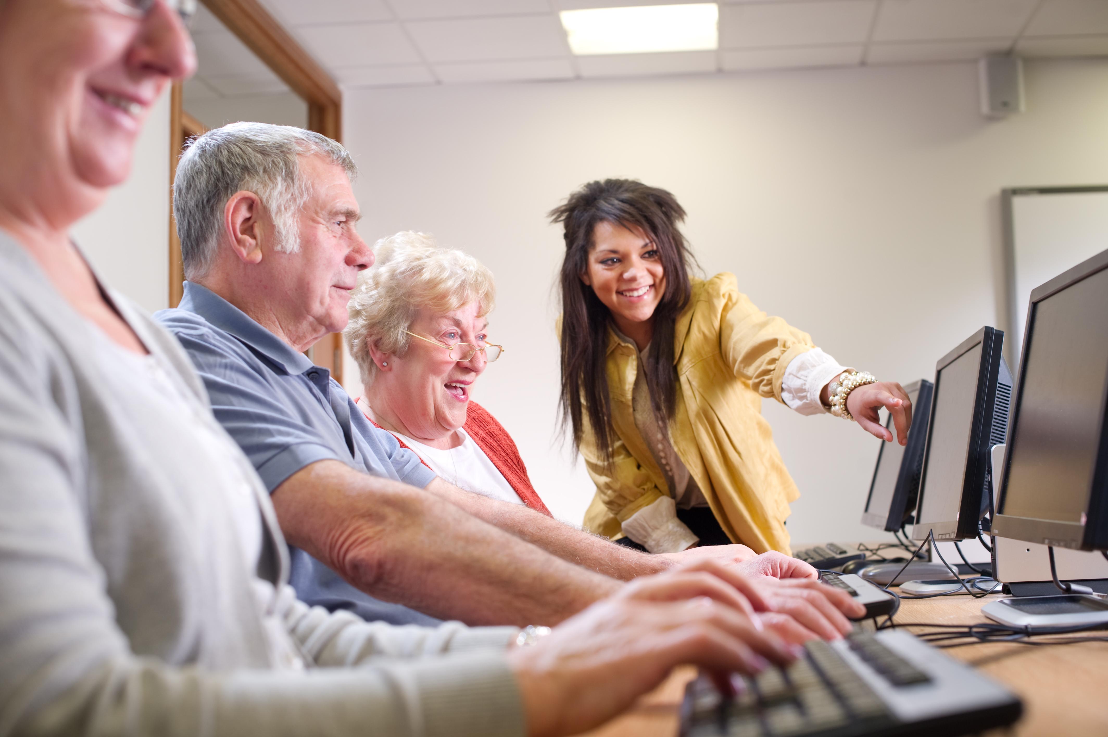 senior computer fun